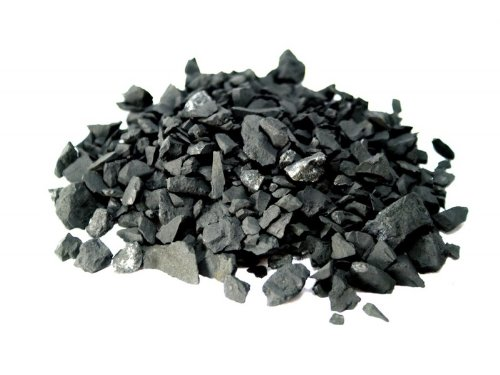 200 g de pierres brutes d'eau Shungite
