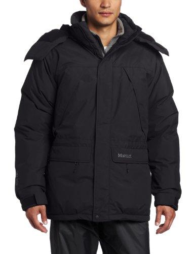 Marmot Yukon Classic Herren-Parka, Schwarz, Größe XL