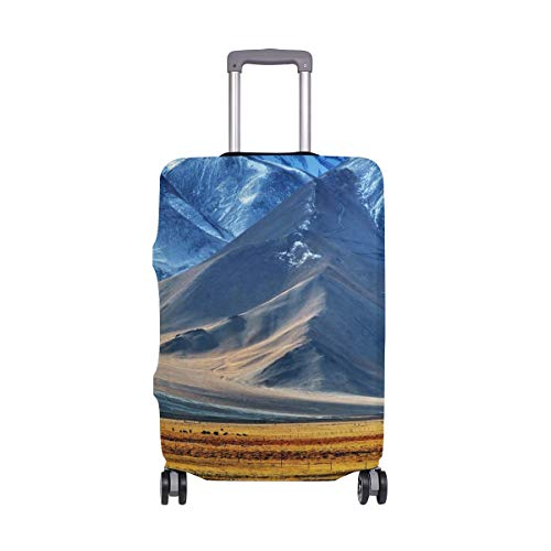 AJINGA Pamir Tayikistán - Funda Protectora para Maleta de Viaje (Talla M, 22-24 Pulgadas)