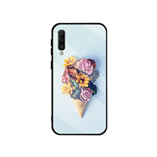 Phonecase - Carcasa de cristal templado para Samsung Galaxy A10S, A20S, A20E, A30S, A40, A50S, A60, A70, A80, A90, A6, A7, A8-B20103906-06.Jpg-For A8 Plus 2018