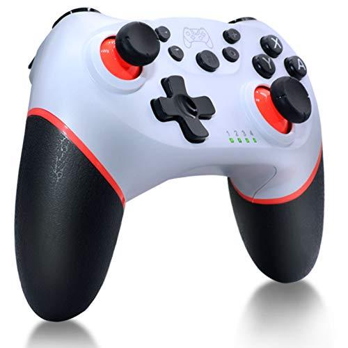 Controlador inalámbrico Pro Nintendo Switch RALAN,Controlador de conmutación Compartir la misma función Turbo y controles de movimiento con controlador de interruptor oficial, controlador para Nintendo Switch/Switch Lite