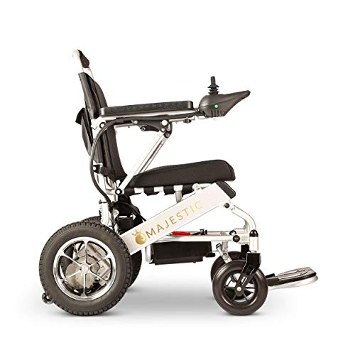Culver 2020 Wide Ultra Lightweight Fold & Travel Electric Heavy Duty Mobility Power Wheelchair Scooter Travel Safe(Free Wheelchair RAMP Gift) Wheelchairs