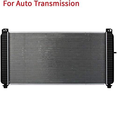 SarahQ fit Chevy 01-02 Silverado 2500HD 8.1L & 01-02 Silverado 3500 8.1L & 01-02 Suburban 2500 8.1L & GMC 01-02 Sierra 2500HD 8.1L & 01-02 Sierra 3500 8.1L Automatic Transmission 1 Row CU2537
