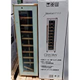 DEVICE STYLE ワインセラー 60L/18本 収納 ペルチェ方式 CDW-18W