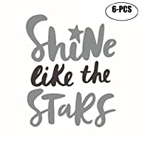 Kapmore タトゥーシール ステッカー 刺青 入れ墨 6枚セット 綺麗 可愛い 腕 足 体 貼る 簡単 防水 紙 子供の日 プレゼント 16パターン選択