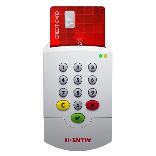 SCM SPR332 v2 Full Speed USB Secure Pin Pad Kartenleser - ideal für Signatur oder Online-Abrechnung KV / 905127