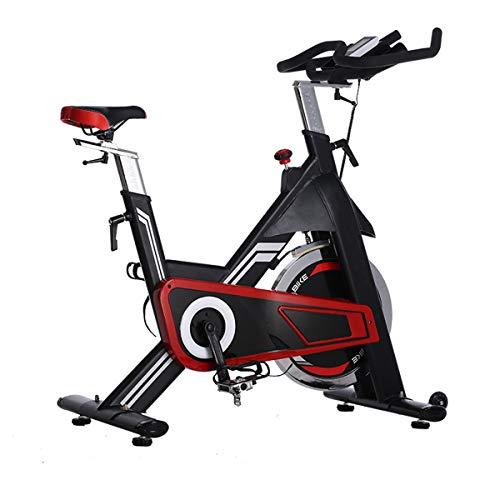 Ligfiets Indoor Cycling Bike, Cycle Hometrainer Fitness Trainer Met LCD-Scherm Inside, Shuttle 22Kg,Red