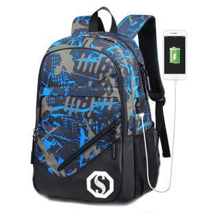 Zaino scuola, zainetto unisex leggero resistente all'acqua zainetto Bookbag per ragazzi ragazze adolescenti, LHTY