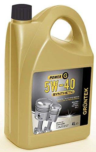 Olio Gruntek Power G 5w40 Synthetic 4l