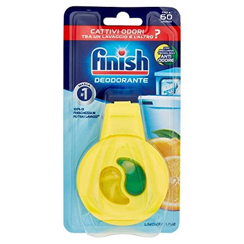 Finish–4ambientadores para lavavajillas, aroma de limón