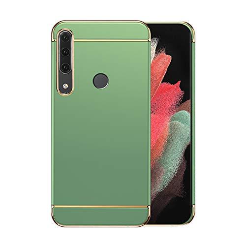 Funda Huawei P30 Lite Case,Fundas Huawei P30 Lite Antigolpes Carcasa Diseño Minimalista Estuche Rígido Ultra Original Delgado de PC a Prueba (Huawei P30 Lite, Verde Claro)