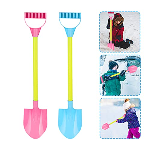 TinaDeer Schneeschaufel Kinder Plastik...
