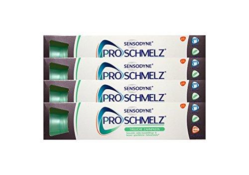 4x SENSODYNE ProSchmelz tägliche Zahnpasta 100ml PZN: 10302268 toothpaste NEU