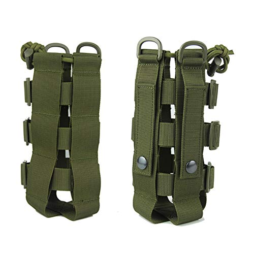 Zdmathe Tactical Water Bottle Pouch Militär Molle System Wasserkocher Tasche Tragbare Durable Camping Wandern Reise Survival Kits Träger