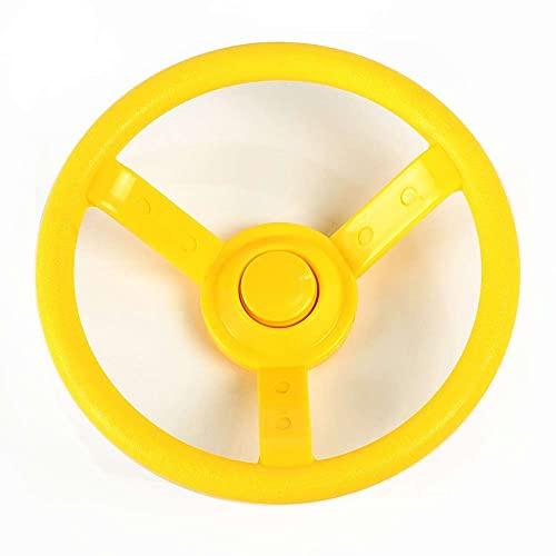 Gartenpirat Lenkrad gelb für Spielturm, Spielhaus, Spielanlage