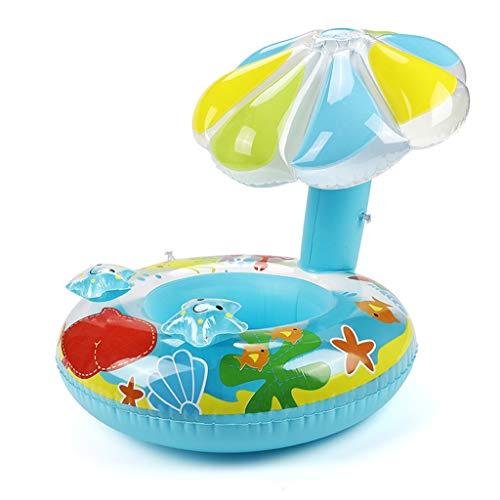 Qianber Seta Asiento Bebé Flotadores Anillo de Natación Verano Fuera Piscina Juguete Espesar Tubo de Natación