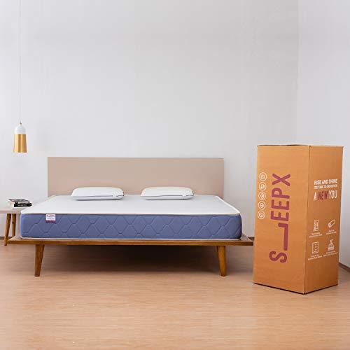 SleepX Ortho Cool Gel Memory Foam Mattress Queen Bed Size