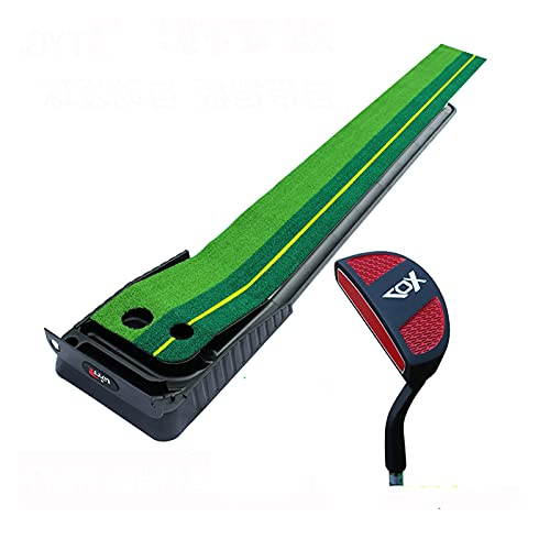 Plegable Golf Twin Turf golpeando la estera con el club y las bolas, 9.8ft / 11.5 pies de la velocidad dual de la estera de la estera de la colcha para el interior del exterior del estera Portátil