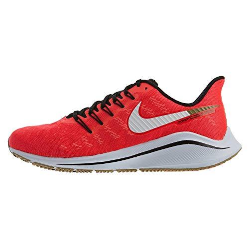 Nike Air Zoom Vomero 14, Scarpe da Running Uomo, Rosso (Red Orbit/White/Black/Parachute Beige 620), 45.5 EU
