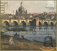 J.S.バッハ : 管弦楽組曲 (全曲) (Johann Sebastian Bach : Orchestral Suites ~ Ouverturen BWV 1066-69 / Akademie fur Alte Musik Berlin) (2CD) [輸入盤]