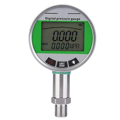 Manomètre Numérique de Mesure de Pression Jauge de Pression Numérique de Pression Hydraulique Indicateur de Pression de Transmission à Distance pour Gas Oil Eau avec Connecteur 0-1.6MPA M20 * 1.5mm