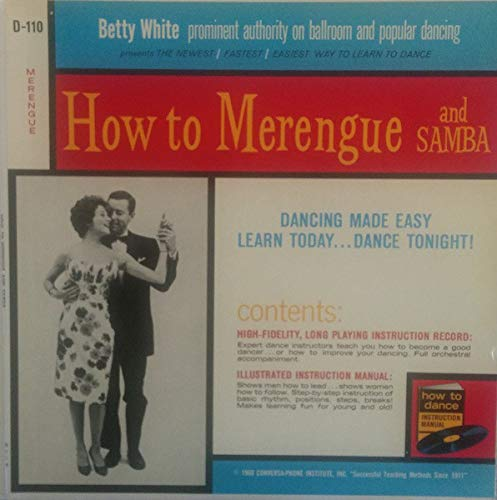 [Vinyl Lp Record] Betty White: How to Merengue and Samba