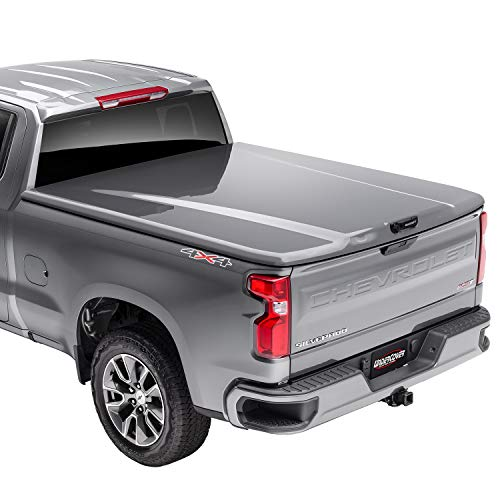 """Elite LX One-Piece Truck Bed Tonneau Cover      Fits 2016 - 2021 Chevrolet SilveradoLegacy (15002500 3500)G7C(WA130X) - Pull Me Over Red 6' 7"""" Bed (78.9"""") - Undercover UC1128L-G7C"""