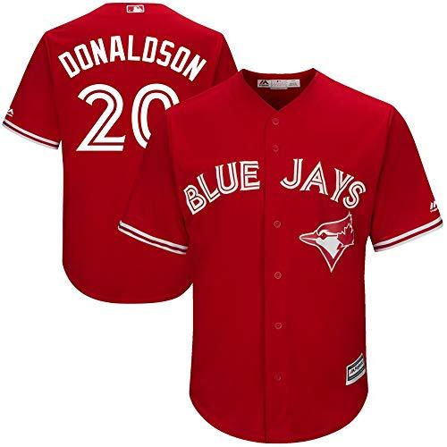 Xiaobudian Sudadera de Uniforme de béisbol Personalizada Personalizada Camiseta de los Blue Jays de Toronto Bordada con Nombre y números para Hombres, Mujeres y jóvenes