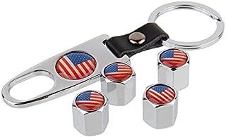 Suchergebnis Auf Für Ford Mustang Schlüsselanhänger Ventilkappen Zubehör Auto Motorrad