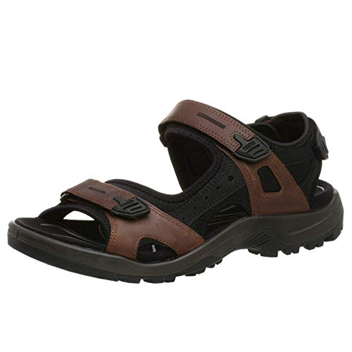 ECCO Men's Yucatan Outdoor Off-Road Hiking Sandal