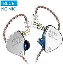 CCA CA4 in-Ear Headphones 1 DD & 1 BA Earphone HiFi DJ Stereo Deep Bass Earbuds with..