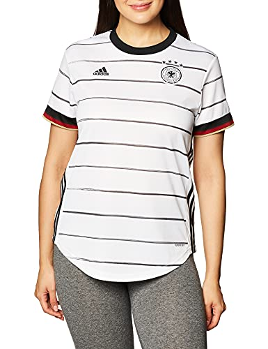 adidas Damen T-Shirt DFB H JSY W, Blanco, M, EH6102