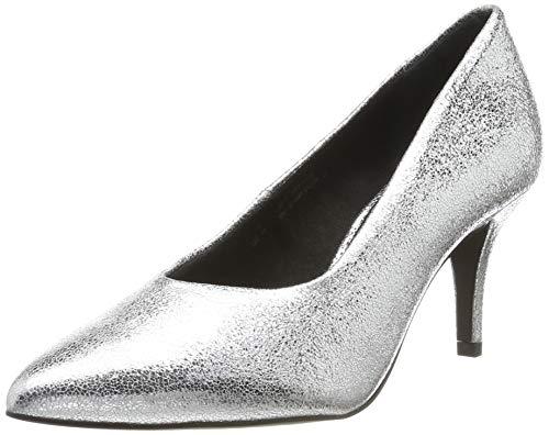 bugatti Damen 412688713900 Pumps, Silber (Silver 1300), 39 EU