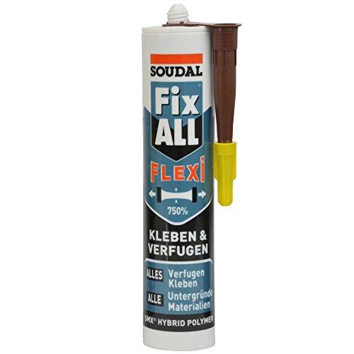 Soudal Fix All Flexi / Braun 470 g Kartusche / Universalkleber