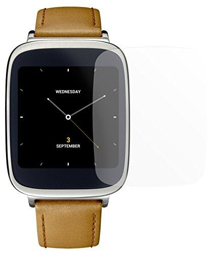 dipos I 2X Schutzfolie matt kompatibel mit Asus ZenWatch Folie Bildschirmschutzfolie