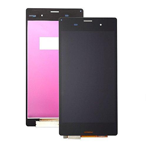 MovTEK para Sony Xperia Z3 D6603 D6653 D6633 L55T LCD Pantalla Táctil Digitalizador Vidrio Completa Reemplazo y Herramientas (Negro)