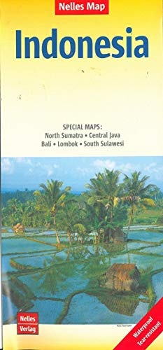 Nelles Map Landkarte Indonesia: 1:4,5 Mio | reiß- und wasserfest; waterproof and tear-resistant; indéchirable et...
