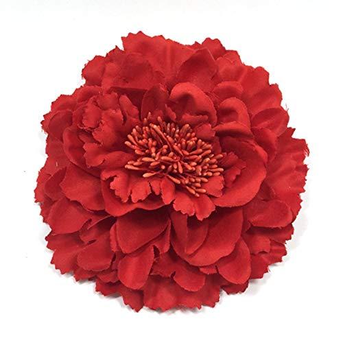 Paperllong® Nouvelle Mode Élégant Rose Fleur Pince À Cheveux Broche Épingles À Cheveux pour Femmes Filles Cheveux Robe Decroration Accessoires De Mariage