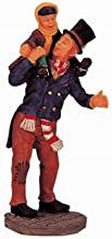 Lemax Caddington Village Collection Bob Cratchit & Tiny Tim Figurine #02403