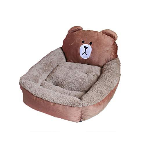 BINGMAX Lustiges Hundebett Katzebett Hundekissen Hundesofa Hundematte Weiche Warme Plüsch Schlafsack Schlafplatz Betten für kleine und große Hunde