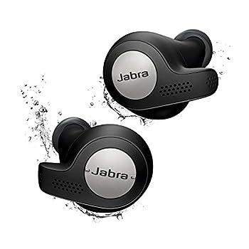 Jabra Elite Active 65t Alexa Enabled True Wireless Sports Earbuds with Charging Case – Titanium Black  Renewed