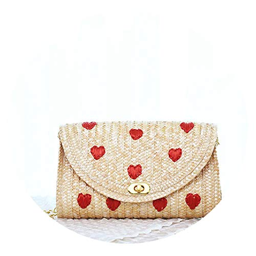 Closure Type:COVER,Gender:Women,Number of Handles/Straps:Single,Hardness:Hard Style:NATIONAL,Main Material:Straw,Item Type:Handbags,Lining Material:None Brand Name:Beautyg,Model Number:Handbags,Exterior:None Pattern Type:Solid,Decoration:Flowers,Inte...