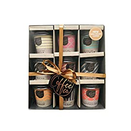 Coffee Co.Collection Mini Travel Takeout Cups Flavoured Coffee Mix Set of 9