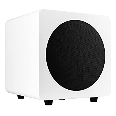Kanto 250W 8 Inch Powered Subwoofer - Matte White (SUB8MW) by Kanto Living Europe