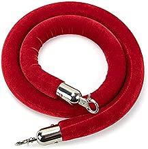 Goplus Red Velvet Stanchion Rope, 5Ft 1.5