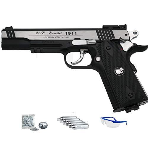 WG 1911 Sport 601 MAB - Pack Pistola de Aire comprimido (CO2