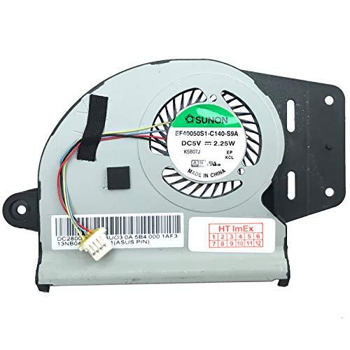 (CPU Version) Lüfter Kühler Fan Cooler kompatibel für Asus ZenBook UX303UA-FN121R, UX303UA-R4051T, ZenBook UX303LA-R4165H, UX303LA-RO476H, ZenBook UX303UB-R4021T, UX303UB-R4076T