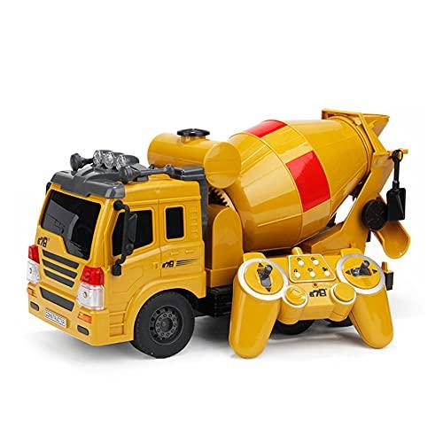 Coche de control remoto de hormigón Camión cisterna Truco Vehículo todoterreno Coche...