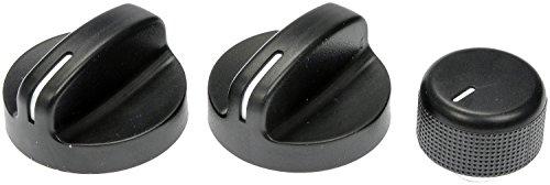 Dorman 76829 HVAC Heater Control Knob for Select Chrysler/Dodge/Eagle Models, Black