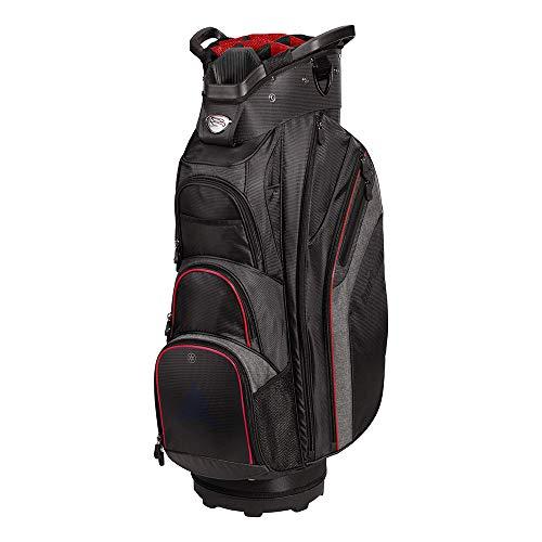 Burton Unisex XLT Cart Bag Black/Charcoal/Red